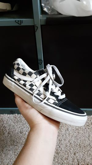 Checkered Low Top Vans for Sale in Hendersonville, TN