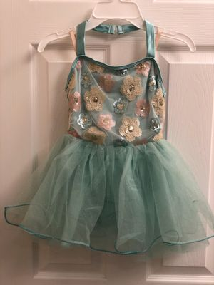 Child small leotard with attached tutu for Sale in Chino, CA