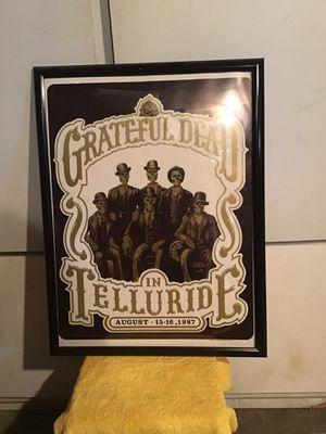 Grateful dead concert poster. for Sale in Portland, OR