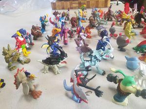 miniature figures digimon and pokemon for Sale in Wenatchee, WA