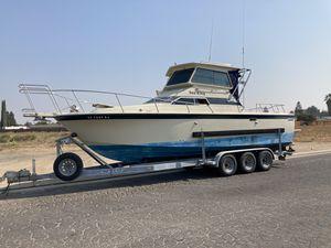 28' SkipJack Pilot House Ocean / Delta boat. for Sale in Escalon, CA