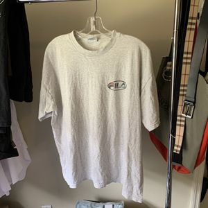 Vintage fila t shirt for Sale in Valrico, FL