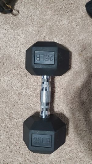 25 pound weight for Sale in Spring Hill, FL