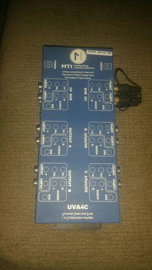 MTI UVA4C Universal Video and Audio 1-4 distribution amplifier. for Sale in Modesto, CA