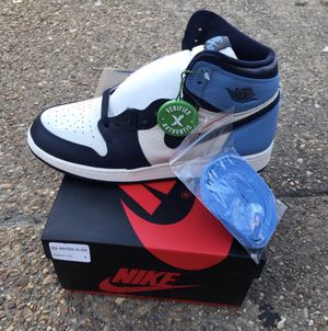 Jordan retro 1 obsidian UNC for Sale in Boston, MA