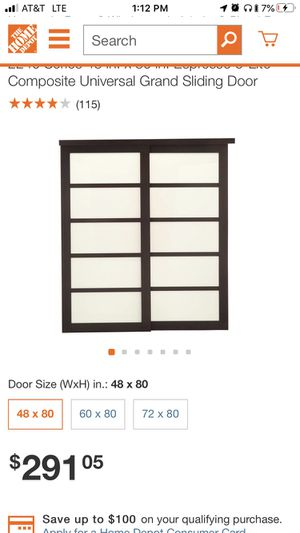 New Sliding Door for Sale in St. Louis, MO