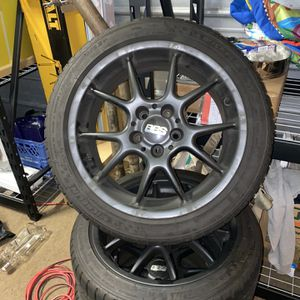"""17"""" x 7.5"""" BBS RK wheels for Sale in Puyallup, WA"""