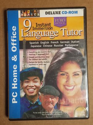 The Euro method instant immersion 9-languages tutor. for Sale in Phoenix, AZ