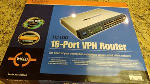 Brand new linksys 16port VPN Router for Sale in Fountain Valley, CA