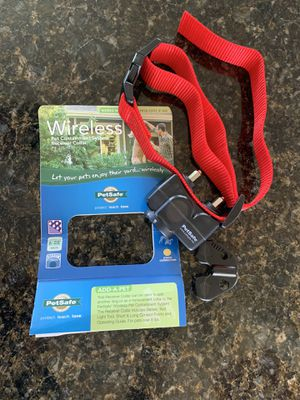 Wireless dog receiver collar for Sale in Madera, CA