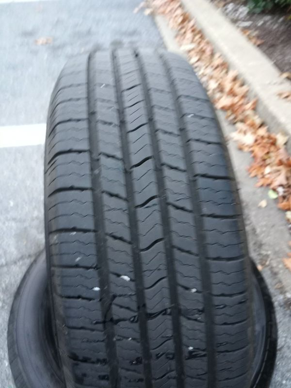 Two Used Michelin Defender All Season Tires.