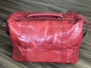Bath & Body Works Faux Leather Duffle Bag for Sale in Ontario, CA