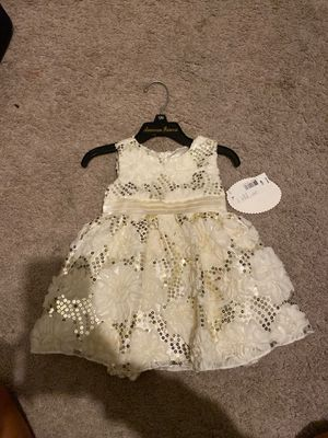 American princess 12 month flower girl dress for Sale in Miami Beach, FL