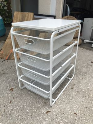 Organizer with baskets for Sale in Lithia, FL