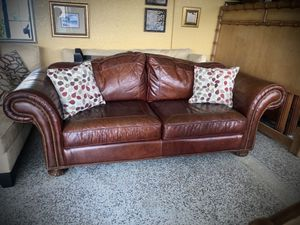 Leather sofa for Sale in Longwood, FL