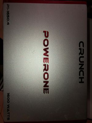 Powerzone crunch 1600 watts amplifier / Cash only!! for Sale in The Bronx, NY