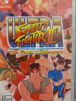 Ultra Street Fighter 2 For Nintendo Switch for Sale in Everett,  WA