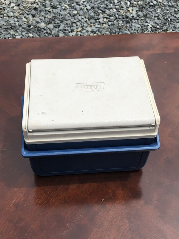 Coleman cooler (small)