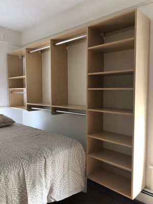 Custom Shelving for walk in closet or storage for Sale in NY, US