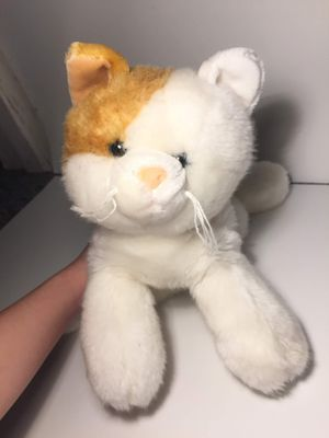 Super cute kitty cat kitten stuffed animal toy plushie plush for Sale in San Leandro, CA