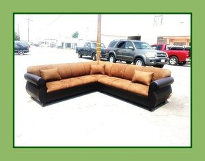 """new 9x9 ft """"Chocolate combo"""" sectional couches for Sale in Los Angeles, CA"""
