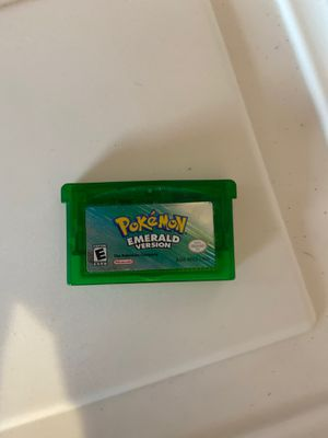 Pokémon emerald cartridge only for Sale in Tacoma, WA