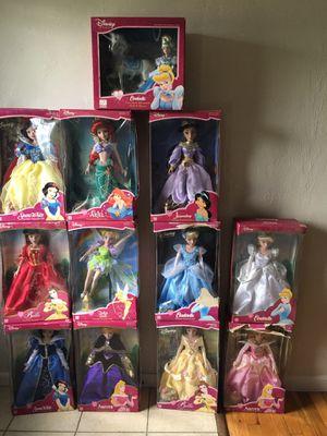 Porcelain Disney Princess Dolls for Sale in Joint Base Lewis-McChord, WA