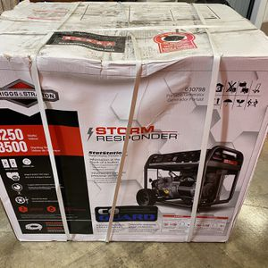 6,250-Watt Storm Responder Gasoline Powered Portable Generator for Sale in Memphis, TN