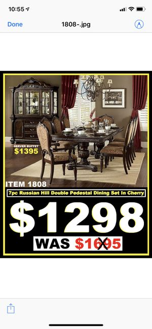 Dining set 7 Pc $1298 for Sale in Fremont, CA
