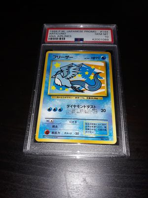 Pokemon Articuno Japanese ANA All Nippon Airlines PSA10 GEM MINT for Sale in Queens, NY