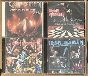 4 LIVE IRON MAIDEN CD—Sheffield, Rio, São Paulo, Santiago. for Sale in Scottsdale, AZ