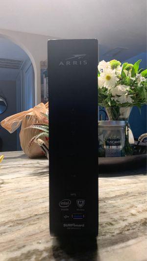 Arris surfboard cable model plus Wifi AC1900 for Sale in Phoenix, AZ