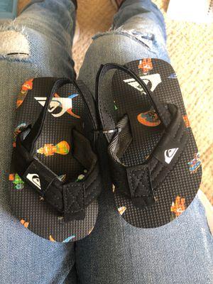 Quicksilver sandals for Sale in Escondido, CA