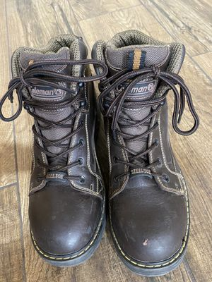 Coleman Steel Toe Work Boots-men's size 9 for Sale in Mesa, AZ