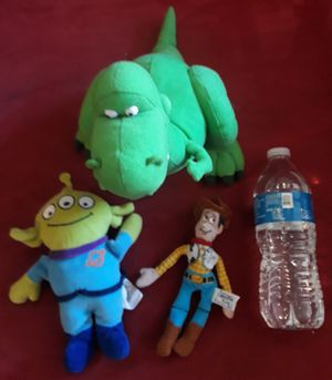 Toy story plush $19 all for Sale in Torrance, CA