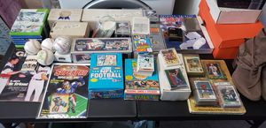 Large Sports card Collection both Vintage and modern Basketball, Baseball & Football. for Sale in Stockton, CA