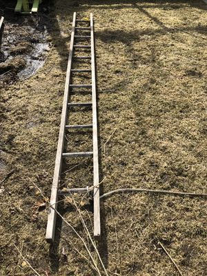 12 foot wooden ladder for Sale in Chicago, IL