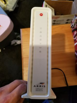 Arris sbg6782-ach 3.0 cable modem/ router combo for Sale in Simpsonville, SC