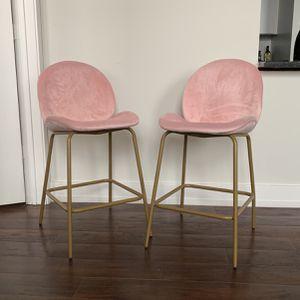 Velvet Barstools for Sale in Raleigh, NC