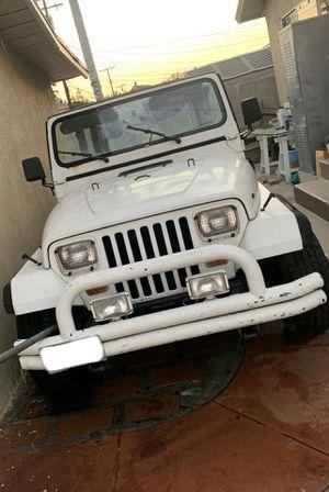 1992 Jeep Wrangler YJ for Sale in Huntington Park, CA