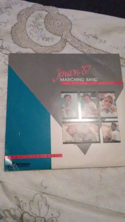 Vinyl Jenson 87 Marching Band Volume 2 for Sale in Camden,  AL