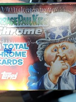 Garbage Pail Kids Topps Chrome 35th Anniversary Blaster Box- Invest Now Check The Prices On Ebay For Blasters Some From 80' 90's for Sale in La Habra Heights,  CA