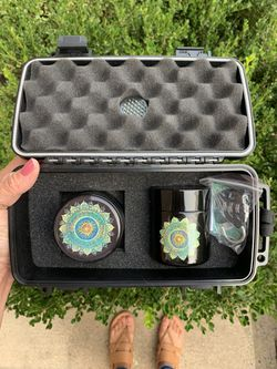 Mandala herb grinder - gently used - beautiful for Sale in Chantilly,  VA