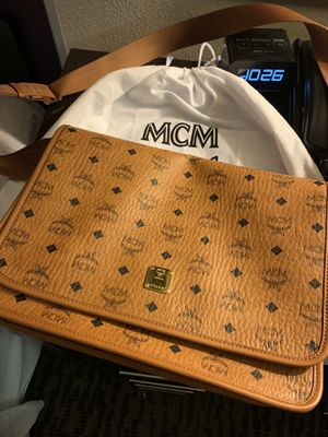 Mcm messenger bag for Sale in New York, NY