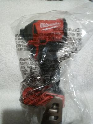 New Milwaukee M18 fuell 3 generation impact driver tool only for Sale in Dinuba, CA