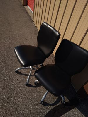 Two beautiful computer desk chairs for Sale in Franklin, IN