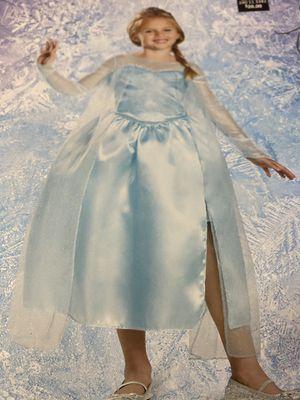 Frozen Princess Elsa dress Halloween costume size med 7-8 new for Sale in Las Vegas, NV