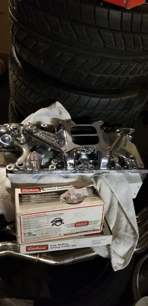 Edelbrock endurashine intake ford 289 for Sale in Inglewood, CA