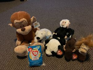 Stuffed animals (TY, Webkinz, and regular) for Sale in New Bedford, MA