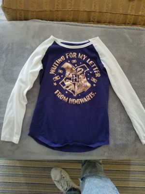 Harry Potter girls long sleeve shirt for Sale in Los Angeles, CA
